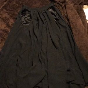 Mini Guess black dress pleated from Galleria mall